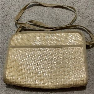 VTG Rattan Wicker Bag from the 90s